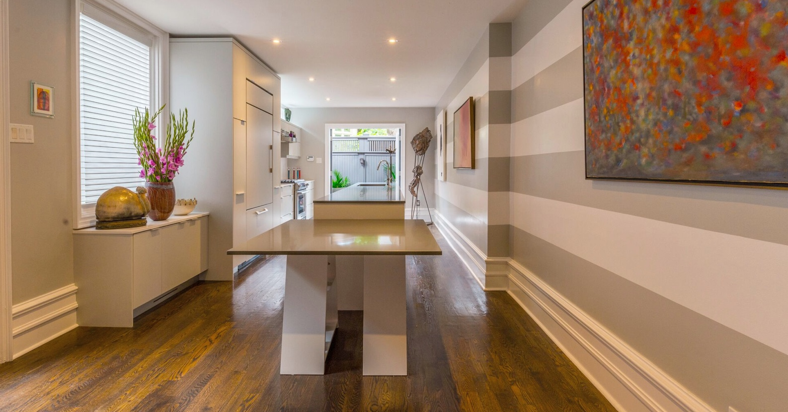 After home staging kitchen photo | 42 Tranby Rd in Toronto